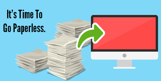 Four Simple Steps To A Modern Paperless Office